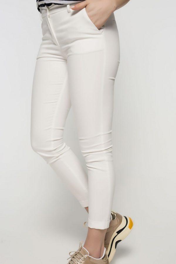 White Cigarrete Pants