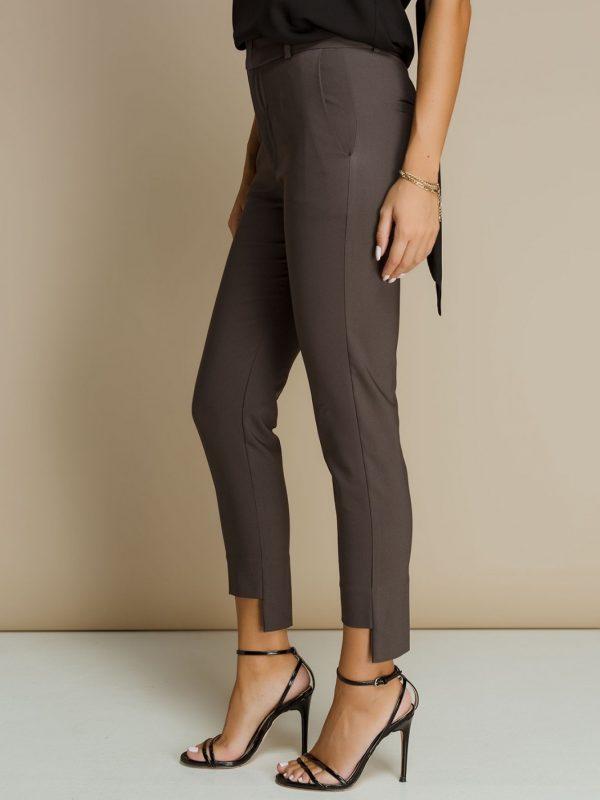 Grey Cigarrete Pants