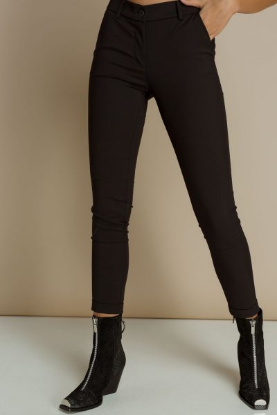 Black highwaist cigarette Pants