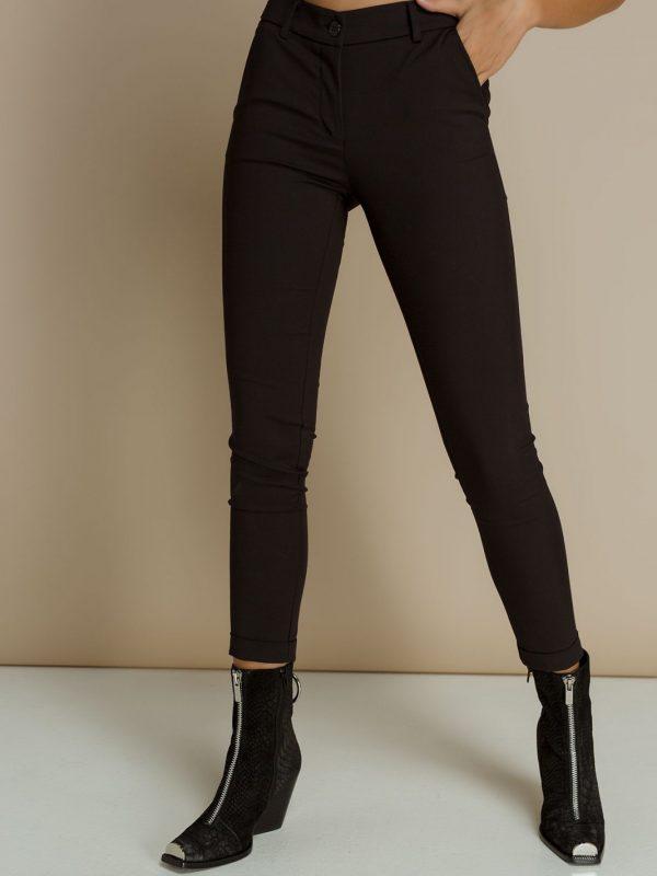 Black highwaist cigarette Pants