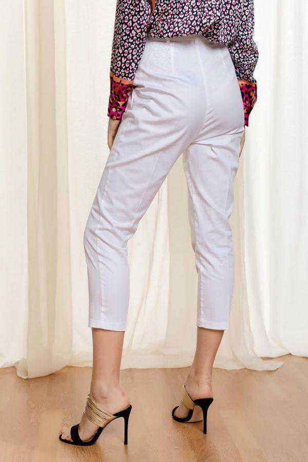 White Highwaist Pants