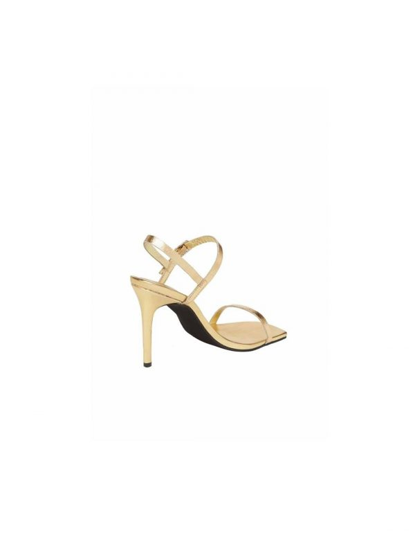 Get Busy Gold Strappy Sandals