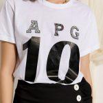 White Jeweled T-shirt