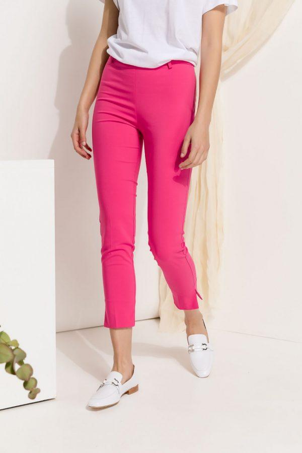Pink Slim Fit Pants