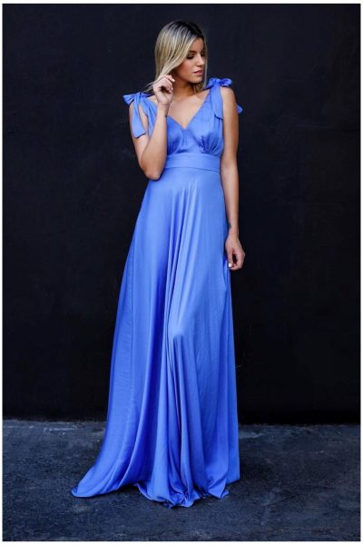 Erika Blue Maxi Dress