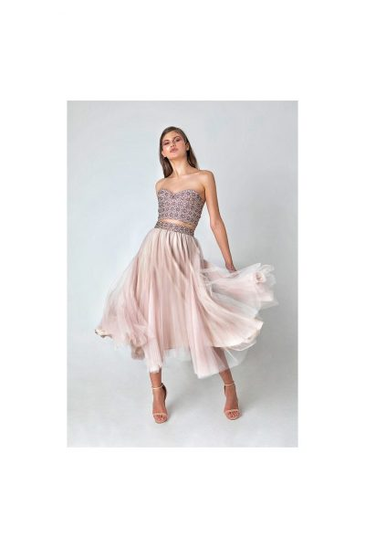 C. Lombard Tulle Skirt