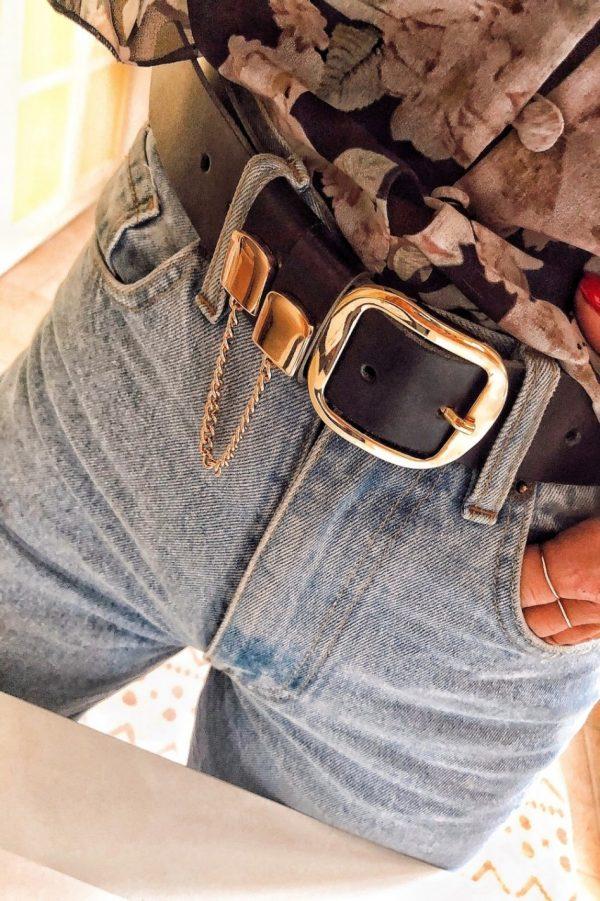 Gold Detailed Belt