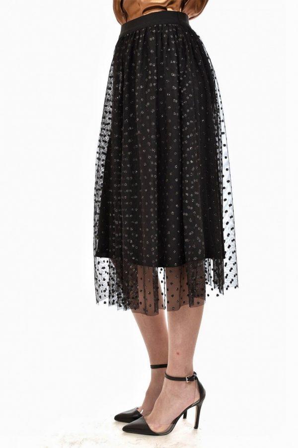 Glitter Tulle Skirt