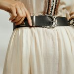 Secret Smile Leather Belt