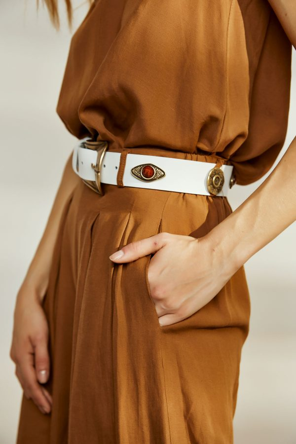 Habits Leather Belt