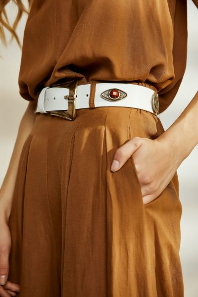 Habits Leather Belt