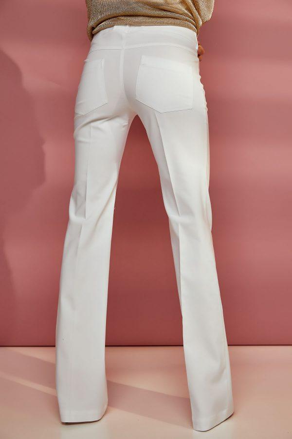White Bell Pants