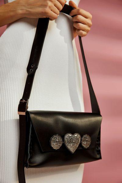 Heartbeats Leather Bag