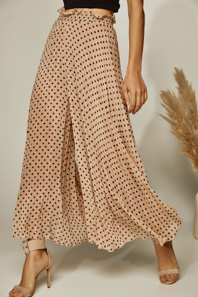 Wide Leg Polka Dot Cullotes