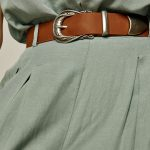 Secret Smile Leather Belt – Taba