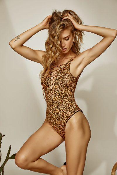 Bell Leopard Swimsuit