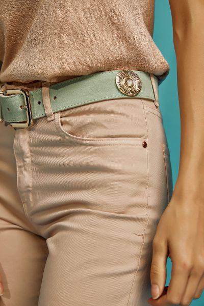 Mint – Gold Detailed Belt