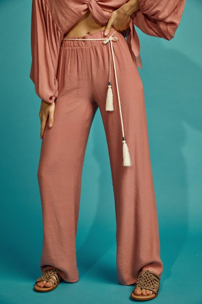Daisy Loose Pants – Nude Pink