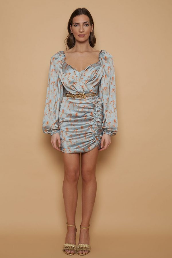 Light Blue Orchid Dress
