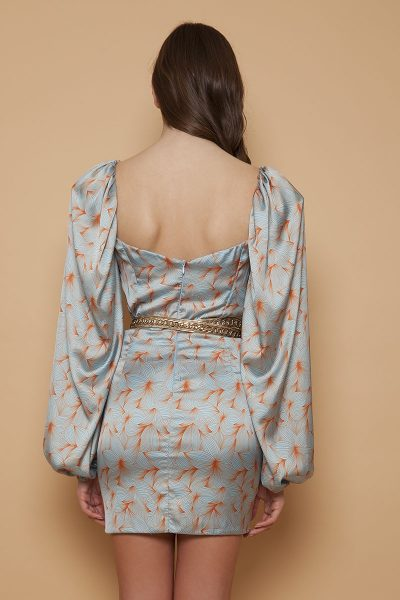 Light Blue Orchid Dress