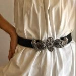 Vintage Paisley Belt