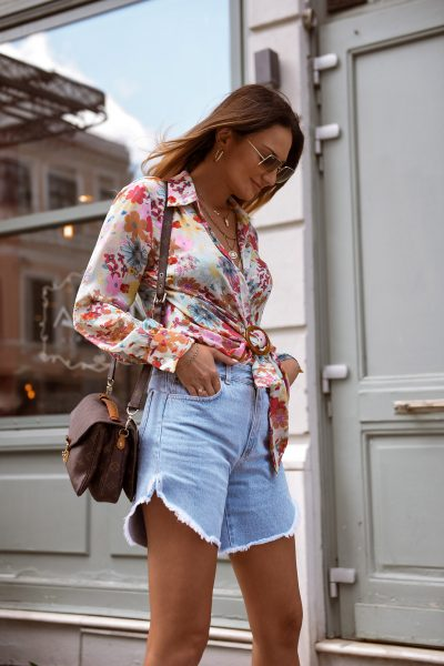 Olivia Denim Shorts