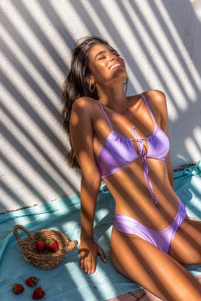 Hailey Lilac Bikini