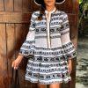 Dimitra Black – Off White Dress