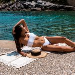 Capri Bikini – White Zakar