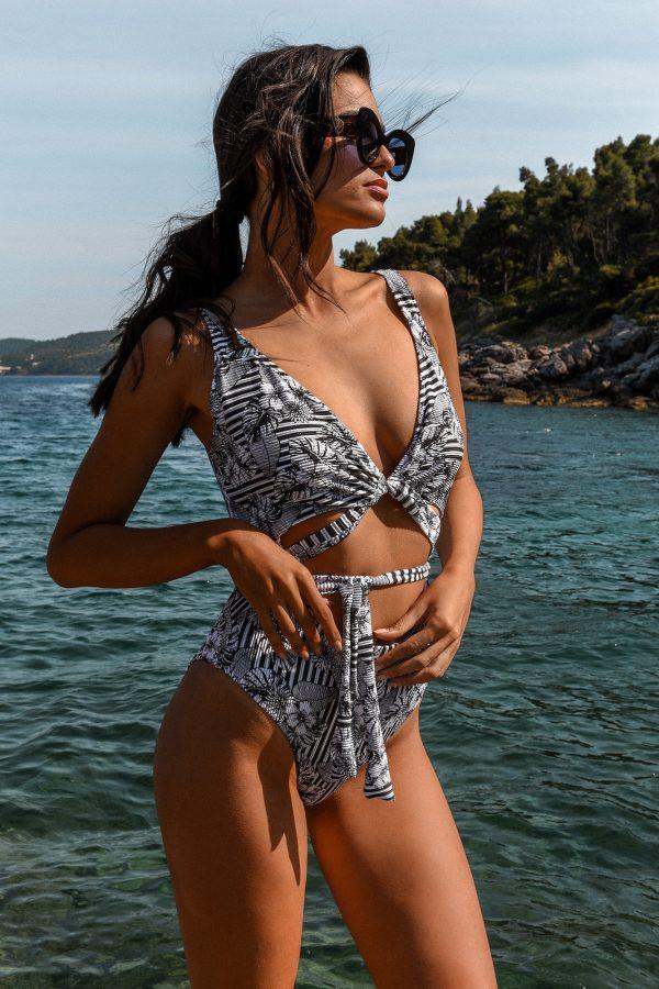 Alba Swimsuit – Lehua Hibiscus Lurex