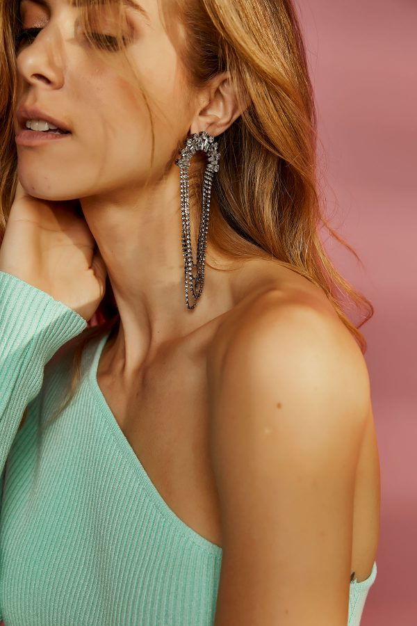 Shiny Drop Earrings