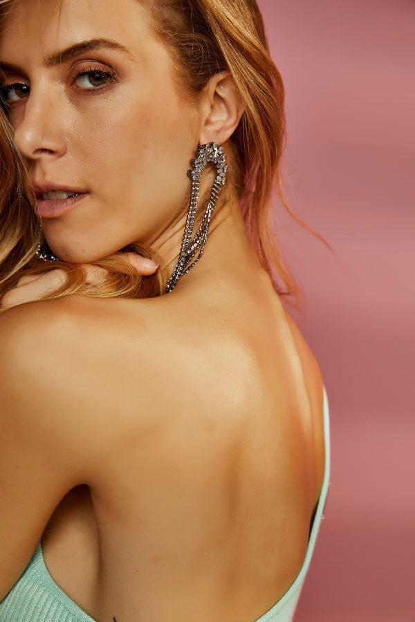 Shiny Drop Earrings