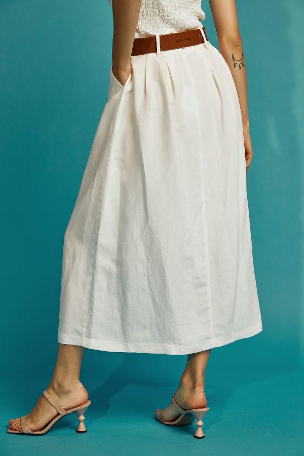 Linen Retro Skirt