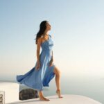 Lilium Dress – Baby blue
