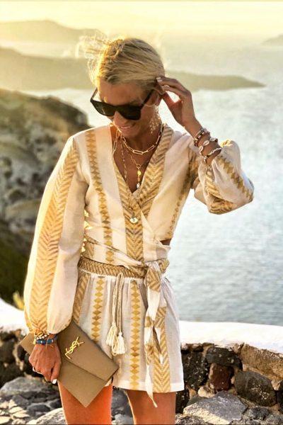 Gold Sunset Shorts