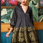 Elizabeth Mini Dress With Embroidery