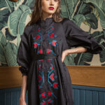 Nefertiti Embroidered Dress