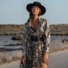 Zebra Midi Dress
