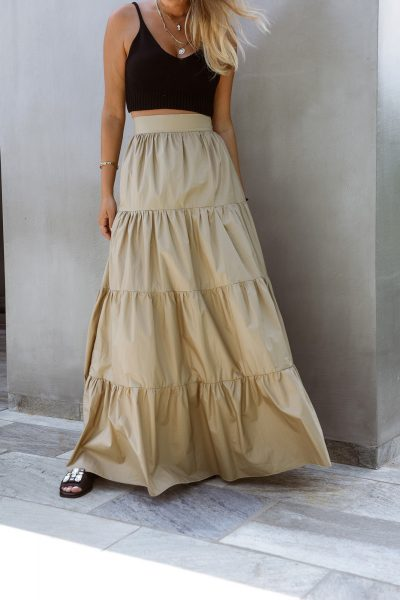 Maxi Volants Skirt