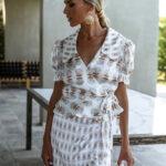 Pearl Wrap Shirt