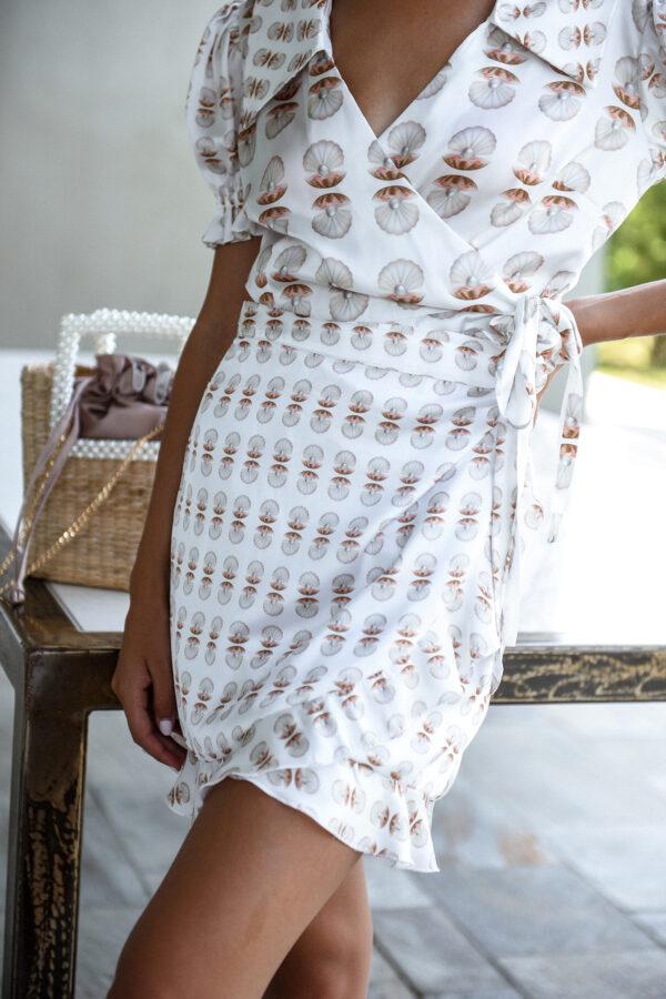 Pearl Wrap Skirt