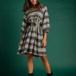 Ismini Boho Dress – Black