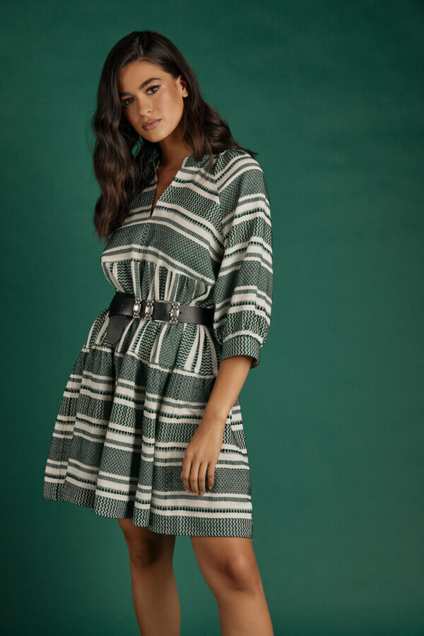 Ismini Boho Dress – Green