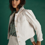 White Eco Leather Jacket