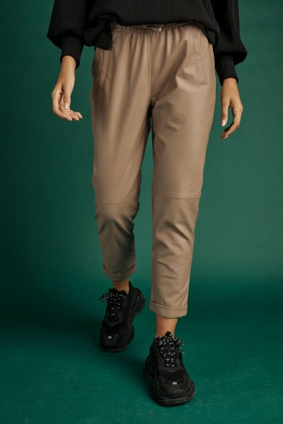 Leather Jogger Pants – Fango
