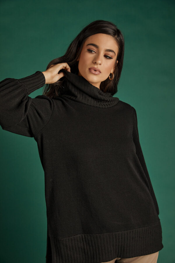 Black Loose Knit