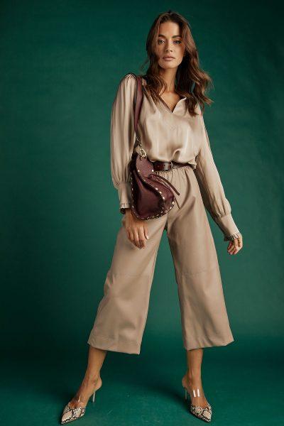Fango Leather Cullotes