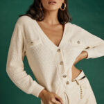Cream Cropped Knit