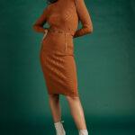 Rib Knit Top – Cinnamon