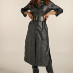 Chemisie Eco Leather Dress